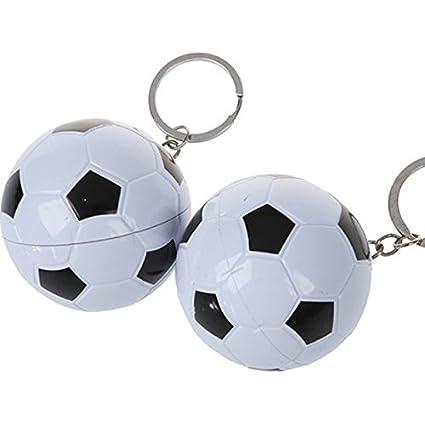 HFjingjing Mini llavero con forma de balón de fútbol ...