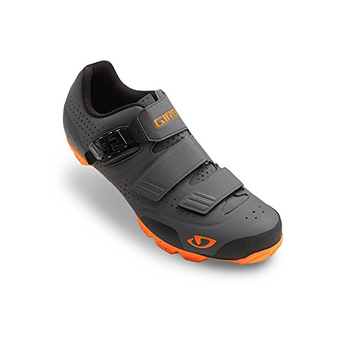 Giro Privateer R MTB Shoes Dark Shadow/Flame Orange 44