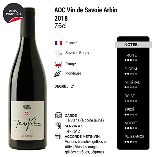 Vin-de-Savoie-Arbin-Mondeuse-les-Eboulis-Rouge-2018-Fabien-Trosset-Vin-AOC-Rouge-de-Savoie-Bugey-Cpage-Mondeuse-Lot-de-6x75cl