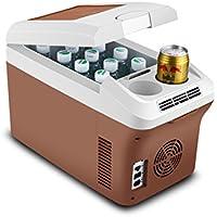 SL&BX Car refrigerator,Car dual mini fridge 24v truck dedicated 15 liters large capacity refrigeration and refrigeration box portable mini fridge-A