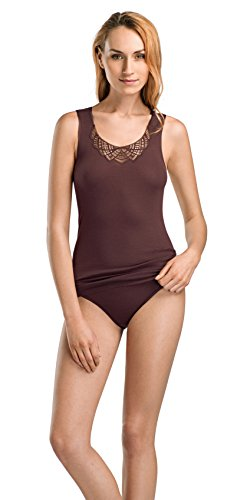 Fiona Tank - HANRO Women's Fiona Tank Top, Aubergine Medium