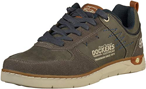 Sneakers Grau 42IS001 Herren Dockers dunkelgrau E10f6fwqx
