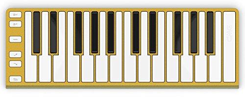 CME Xkey 25-Key MIDI Portable Mobile Musical Keyboard - Gold