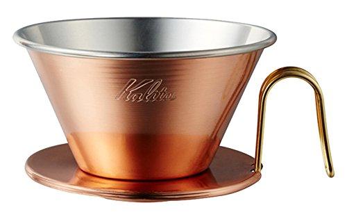 Kalita Coffee Dripper 'TSUBAME' WDC-185 2-4 Person Use Copper 5099 by Kalita