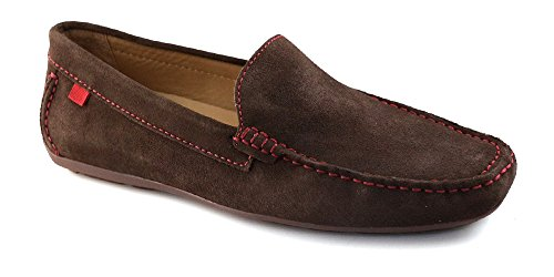 Marc Joseph NY Men's Fashion Shoes Broadway Brown Suede Venetian Loafer Size 11 (More Size/Colors Available) by Marc Joseph New York