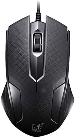 Color : Black 129 USB Universal Wired Optical Gaming Mouse with Counter Weight Black Length: 1.3m Premium Material