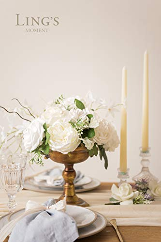 Lings-moment-Artificial-Flowers-Combo-Realistic-Fake-Roses-with-Stem-for-DIY-Wedding-Bouquets-Centerpieces-Floral-Arrangements-Decorations-Pearly-White