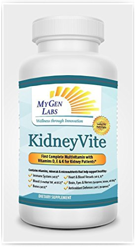 KidneyVite 100 Day Supply-Vitamin and Mineral Supplement to Support Your Kidney and Cardiovascular Health
