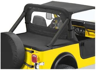 CJ-7 /& Wrangler Bestop 80028-01 Black Crush Windjammer Wind Break for 1980-1995 CJ-5