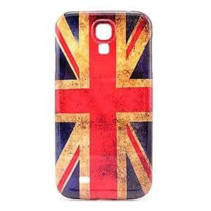 SOL Retro Britain Flag Pattern Plastic Protective Back Cover for Samsung Galaxy S4 I9500