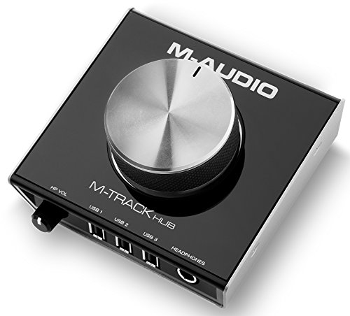 M-Audio M-Track Hub Channel Audio Interface