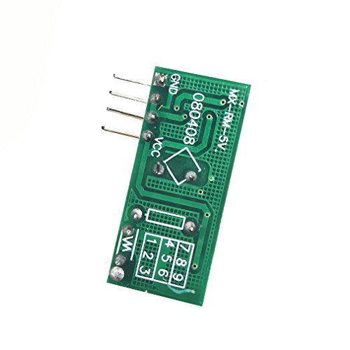 SMAKN/® 433Mhz Rf Transmitter and Receiver Link Kit for Arduino//Arm//McU 6461060