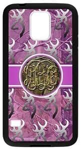 LILICHEN Monogram Browning Camo Buck Case Cover for Samsung Galaxy S5(Laser Technology) -- Design By LILICHEN