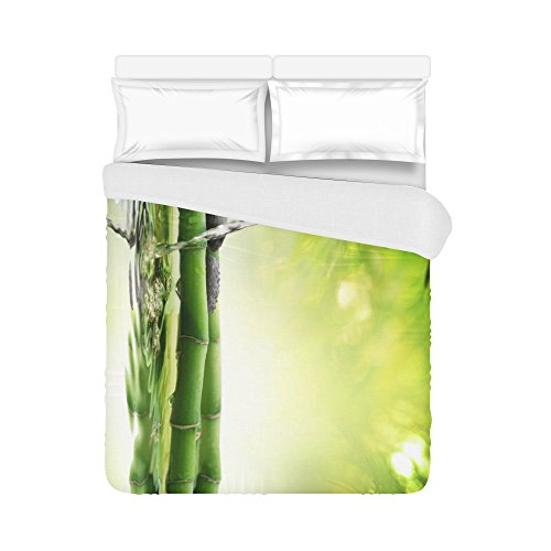 your-fantasia Japanese Bamboo Fountain Spa Stones Flow Water Home Bedding Duvet Cover Quilt Cover 86 x 70 Inches by your-fantasia