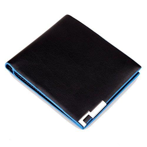 YJYdada Men Stylish Bifold Business Leather Wallet Card Holder Coin Wallet Purse ()
