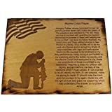 Marine Corps Prayer Sign - USMC Prayer - USMC Gift - 8.5 x 11.5 Marine Corps Prayer Sign