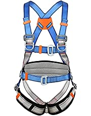 Full Body Height Safety Fall Arrest Fully Adjustable Restraint Harness Scaffold Construction Work Fall Protection Harness Adjustable in Legs Chest and Upper Body