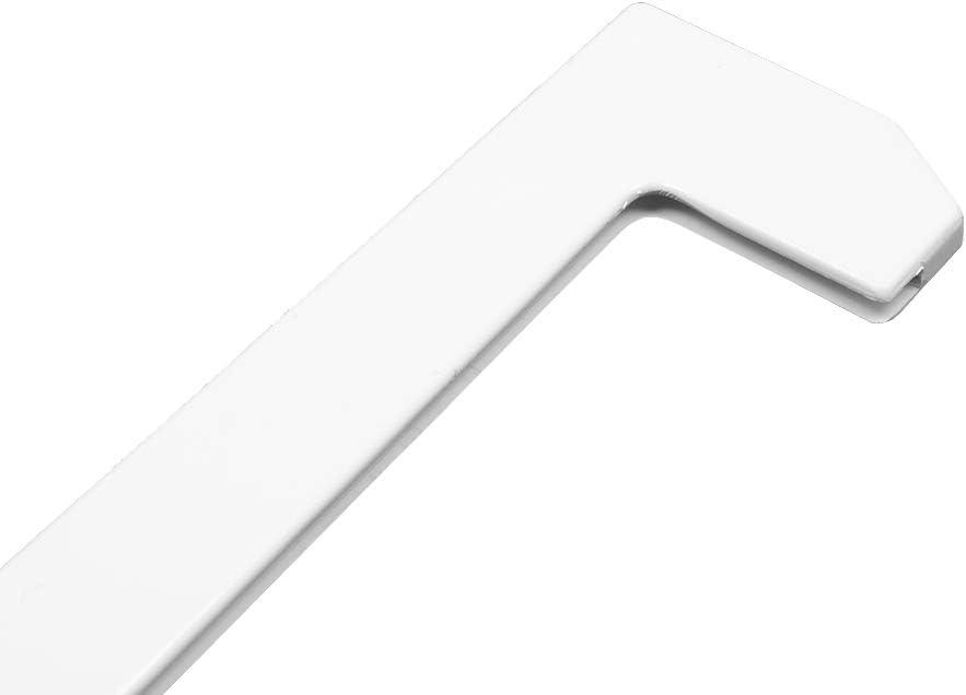 Wessper Delantero Marco de Placa Estante de Vidrio para Frigor/ífico Refrigerador Beko RDSA310M20 49 x 6cm