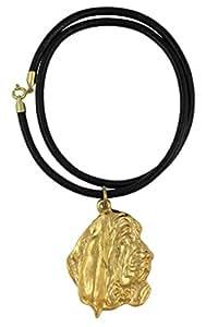 Basset Hound, millesimal fineness 999, gold dog necklace, limited edition, ArtDog, finesse millièmes 999, collier de chien en or, en édition limitée, ArtDog