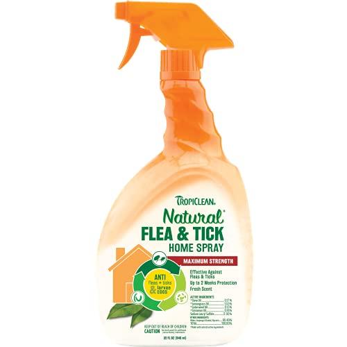TROPICLEAN Spray Anti Pulgas y Garrapatas para Casa