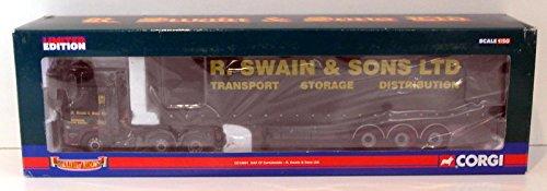 Corgi 1/50 Scale CC13601 - DAF CF Curtainside - R.Swain & Sons Ltd. B003LI8OY2