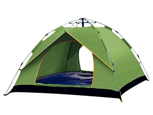 バングラデシュコントラスト雇用BeneBomo ワンタッチテント 2~3人用 アウトドア テント アウトドアキャンプテント 折りたたみ式 ビーチテント UVカット 防水 軽量 設営簡単 防虫 蚊帳 収納ケース付き 風通性良い