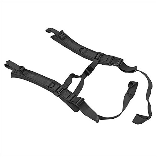 US Peacekeeper Backpack Straps for P30049 Black, Medium