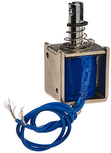 Uxcell a13060500ux0006 Push Pull Type Open Frame Solenoid Electromagnet, 20N 4.4 lb., 10 mm, DC 24V, 350 mA