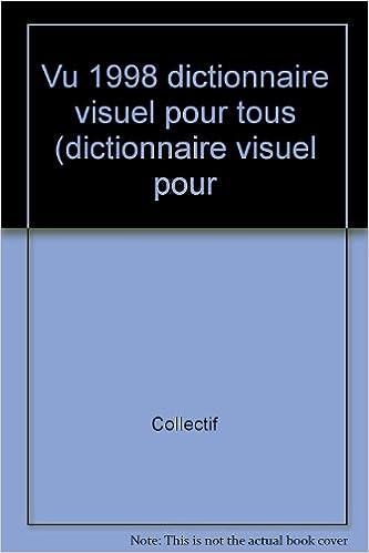 Livres gratuits VU. : Dictionnaire visuel pour tous epub pdf