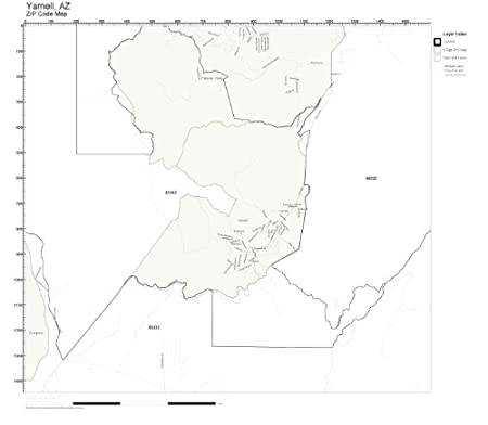 Amazon.com: ZIP Code Wall Map of Yarnell, AZ ZIP Code Map Laminated on show arizona fires on map, sun city arizona zip code map, springerville az map, greasewood az map, village of oak creek az map, arizona doppler radar weather map, harquahala valley az map, prescott az map, anthem az map, az wildfires current map, linden az map, kachina village az map, flagstaff az map, summerhaven az map, sahuarita az map, octave mine map, pinetop-lakeside az map, congress az map, hannagan meadow az map, bumble bee az map,