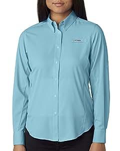 Columbia Women's Tamiami II Long-Sleeve Shirt, Clear Blue, XS