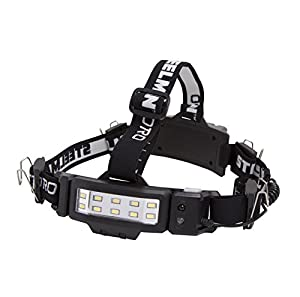 STEELMAN PRO 78834 250-Lumen LED Slim Profile Rechargeable Motion Activated Hands-free Headlamp