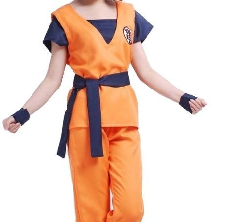 Dragon Ball Son Goku Cosplay Costume with
