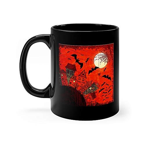Halloween Night Mug 11 Oz Ceramic ()