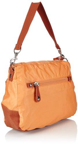Sansibar Typhoon - Bolso de hombro de material sintético mujer naranja - Orange (orange)