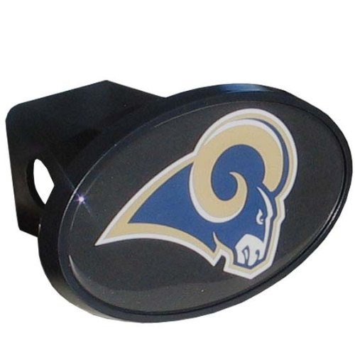 St Louis Rams Cover (NFL St. Louis Rams Plastic Logo Hitch Cover, Class III)