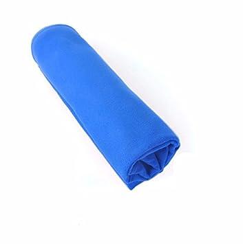 Secado rápido toalla deportiva doble cara fieltro sudor Toalla Facial Toalla Outdoor Viajes Viaje de Negocios Toalla Toalla azul: Amazon.es: Deportes y aire ...