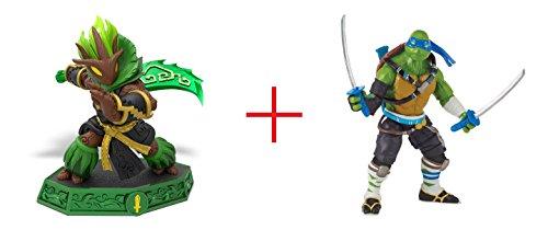 Ambush Sensei: Skylanders Imaginators Series AND Teenage Mutant Ninja Turtles Movie 2 5 inch Action Figure - Leonardo - (Ninja Turtles Sensei)