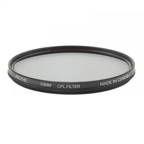 72 mm Inov8 Filtro polarizador multicapas circular digital