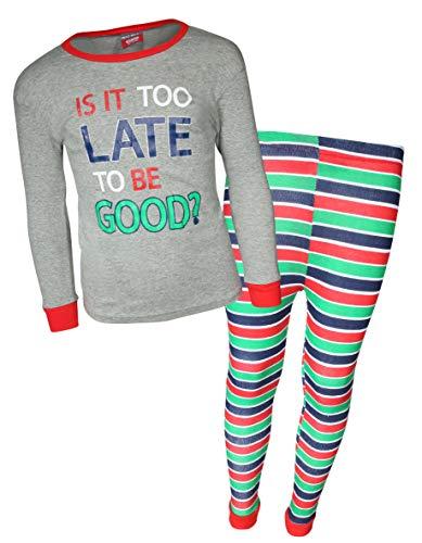 MAC HENRY Boys Snug Fit Christmas Pajama Set,