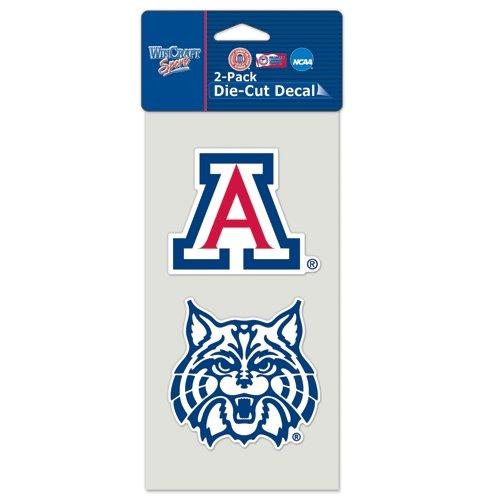 NCAA University of Arizona Perfect Cut Decal (Set of 2), 4