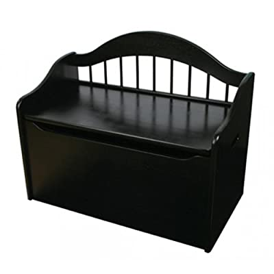 KidKraft Limited Edition Toy Box - Black: Toys & Games