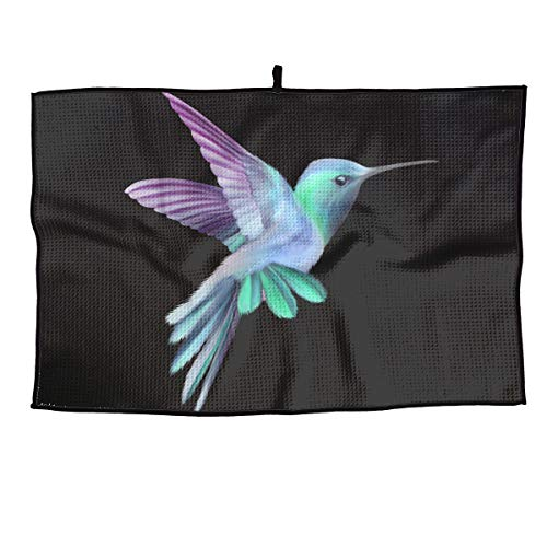 Golf Hummingbird (KLQ Hummingbird Golf Dry Wet Amphibian Towel Gym Player Sports Yoga Towel Clubs Cleaning Bath Beach Face Microfiber Towel)