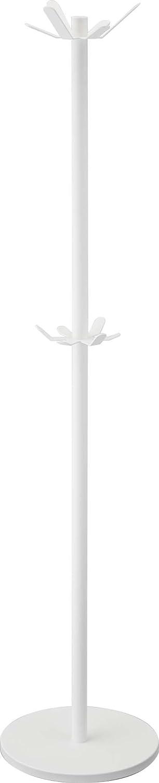 YAMAZAKI homeTower Bi-Level Coat Rack White