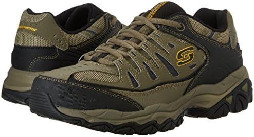 Skechers Men's Afterburn Memory-Foam Lace-up Sneaker 16