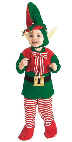 Santa's Little Helper Elf Costume for Babies and Toddlers