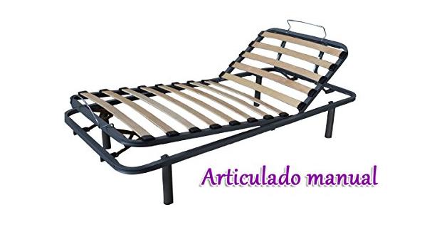 GrupoDiper - Somier Articulado Manual 105X180: Amazon.es: Hogar