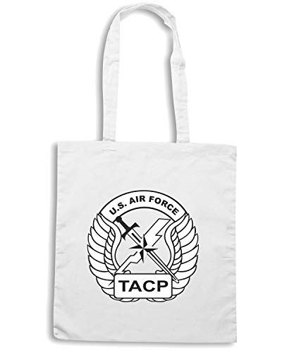USA TACP Shirt AF Shopper Borsa Speed TM0365 Bianca 0Yx6Wqw