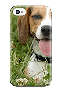 Hot Beagle Dog First Grade Tpu Phone Case For Iphone 4/4s Case Cover