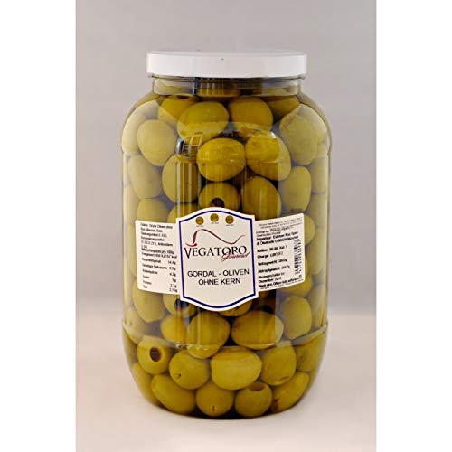 Gordal Olives Pitted - 8.4 lbs